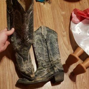G circle womens boots